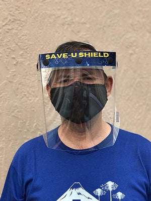 Face Shield - Heavy Duty - Durable and Washable - Wider Size