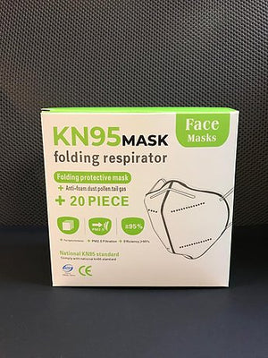 KN95 Masks - pack of 1, 3,10 and 20