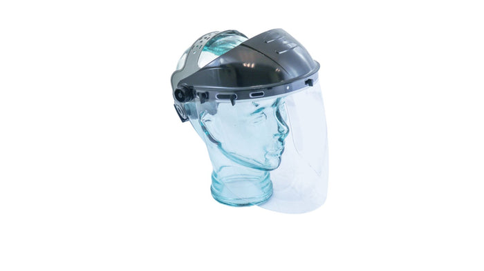 Ratchet Headgear with Face Shield