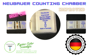 Neubauer Counting Chamber - Made In Germany