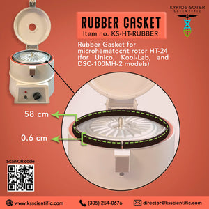 Rubber Gasket for microhematocrit rotor