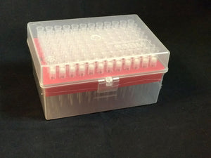 Filtered Pipette Tips 200 uL (Sterile, 10 boxes/pk, 960 Tips)