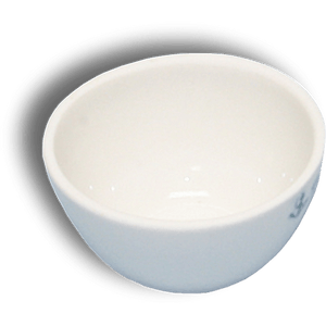 Crucible with Lid: Low Form, 30 mL