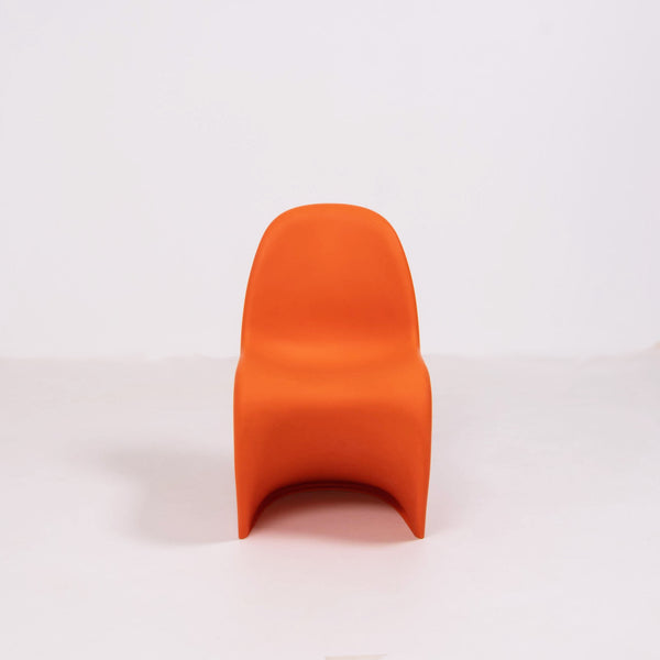 Mid Century Modern Orange Panton Chairs by Verner Panton for Vitra