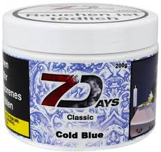 7 Days Tabak Classic 200g - Cold Blue (2)