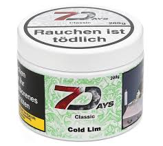 7 Days Tabak Classic 200g - Cold Lim (4)