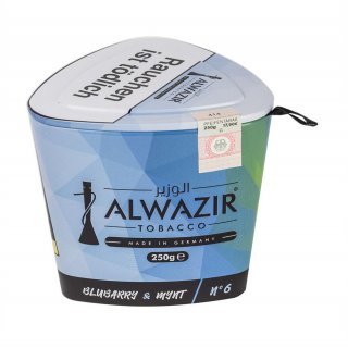 ALWAZIR 250g - n°6 Blubarry & Mynt
