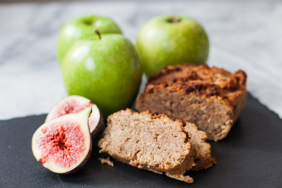 Paleo Fig & Apple Loaf