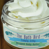 Fragrance Free Whipped Body Butter, Unscented Body Frosting