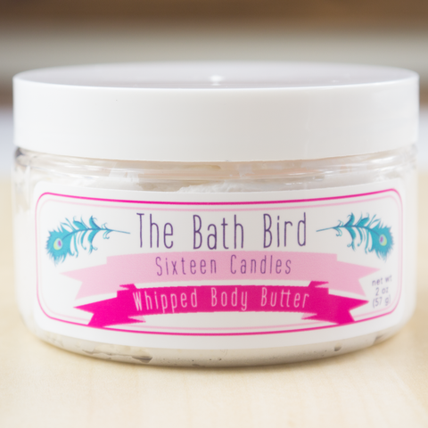 Sixteen Candles Whipped Body Butter Lotion, Body Frosting