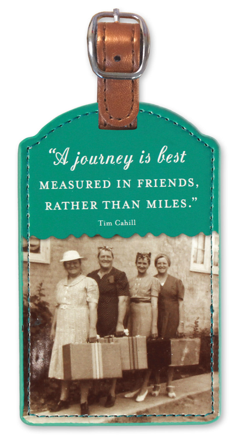 Rather Than Miles Luggage Tag
