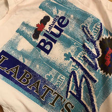 Load image into Gallery viewer, Vintage Labatt blue t shirt size large