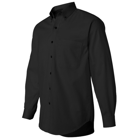 Black Twill Casual Shirt