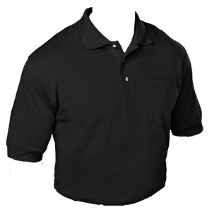 Black Cotton Sport Shirt