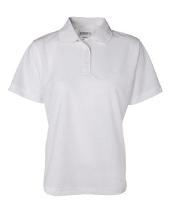 White Women's Performance Polo