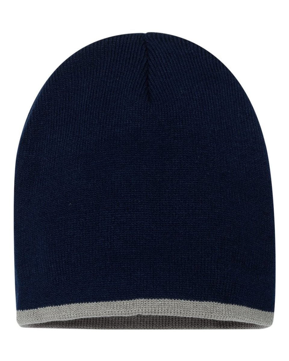 Navy/Gray Stocking Cap
