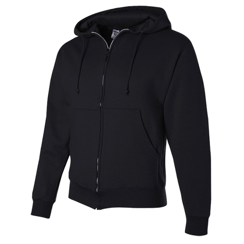 Black Full Zip Sweatshirt