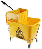 24L Industrial Mop Bucket with Wringer