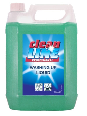 Cleanline Washing Up Liquid 5L (4 per case)