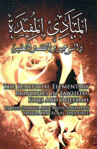 The Beneficial Elementary Principles in Tawheed, Fiqh and 'Aqeedah