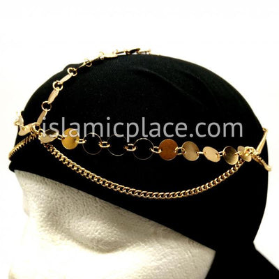 Munira Gold Khimar Chain