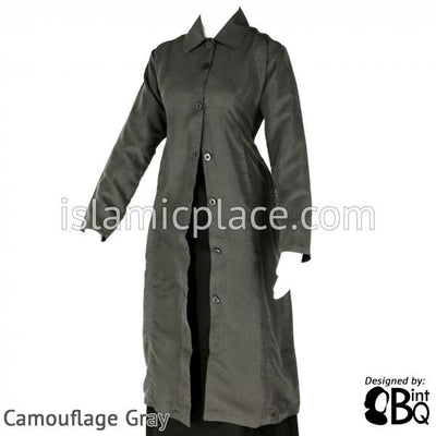 Camouflage Gray Professional Coat - BQ123