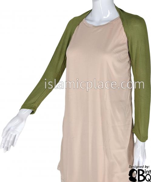 Camouflage Green - Connected Full Bolero Sleeve