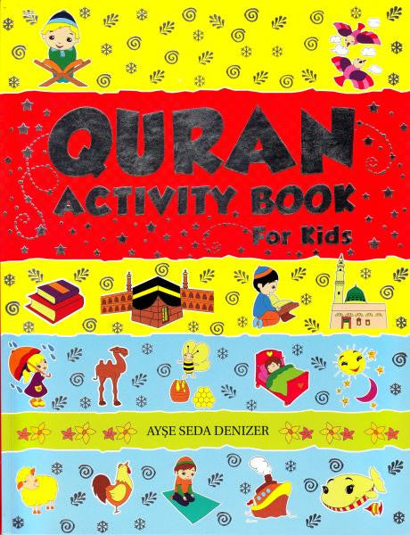 Quran Activity Book For Kids - The Islamic Place