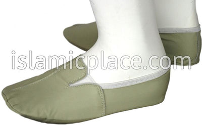 Sage - Ankle Low-cut Khuff Leather socks
