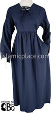 Club Navy - Yaminah Swing Abaya by BintQ - BQ42