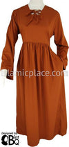 Rust - Yaminah Swing Abaya by BintQ - BQ42