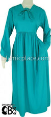 Teal - Girl's Yaminah Swing Abaya by BintQ - BQ42