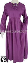 Light Purple - Girl's Yaminah Swing Abaya by BintQ - BQ42