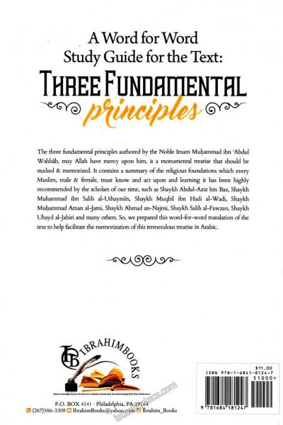 A Word for Word Study Guide for the Text: Three Fundamental Principles