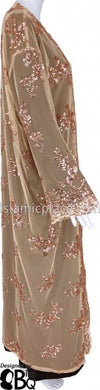 Gold & Champagne - Sequin Duster Cardigan