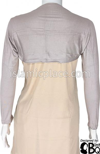 Silver Gray - Connected Full Bolero Sleeve