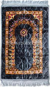 Gray - Plush Orthopedic Padded Luxurious Prayer Rug