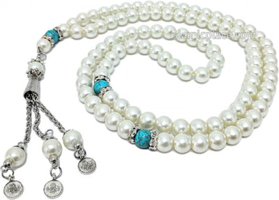Turquoise Gem - Pearls of Dhikr Tasbih Prayer Beads