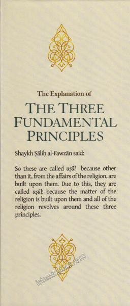 The Explanation of the Three Fundamental Principles by Fawzan (Hardback)