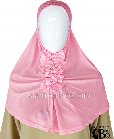 Baby Pink - Dazzling Hijab Teen to Adult (Large)