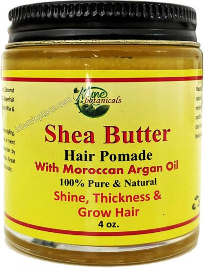 Shea Butter Hair Pomade with Moroccan Argan Oil
