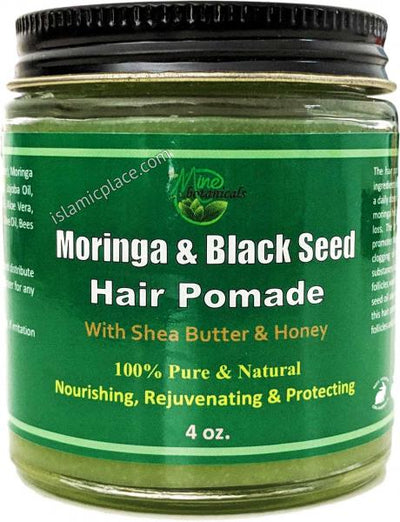 Moringa & Black Seed Hair Pomade with Shea Butter & Honey