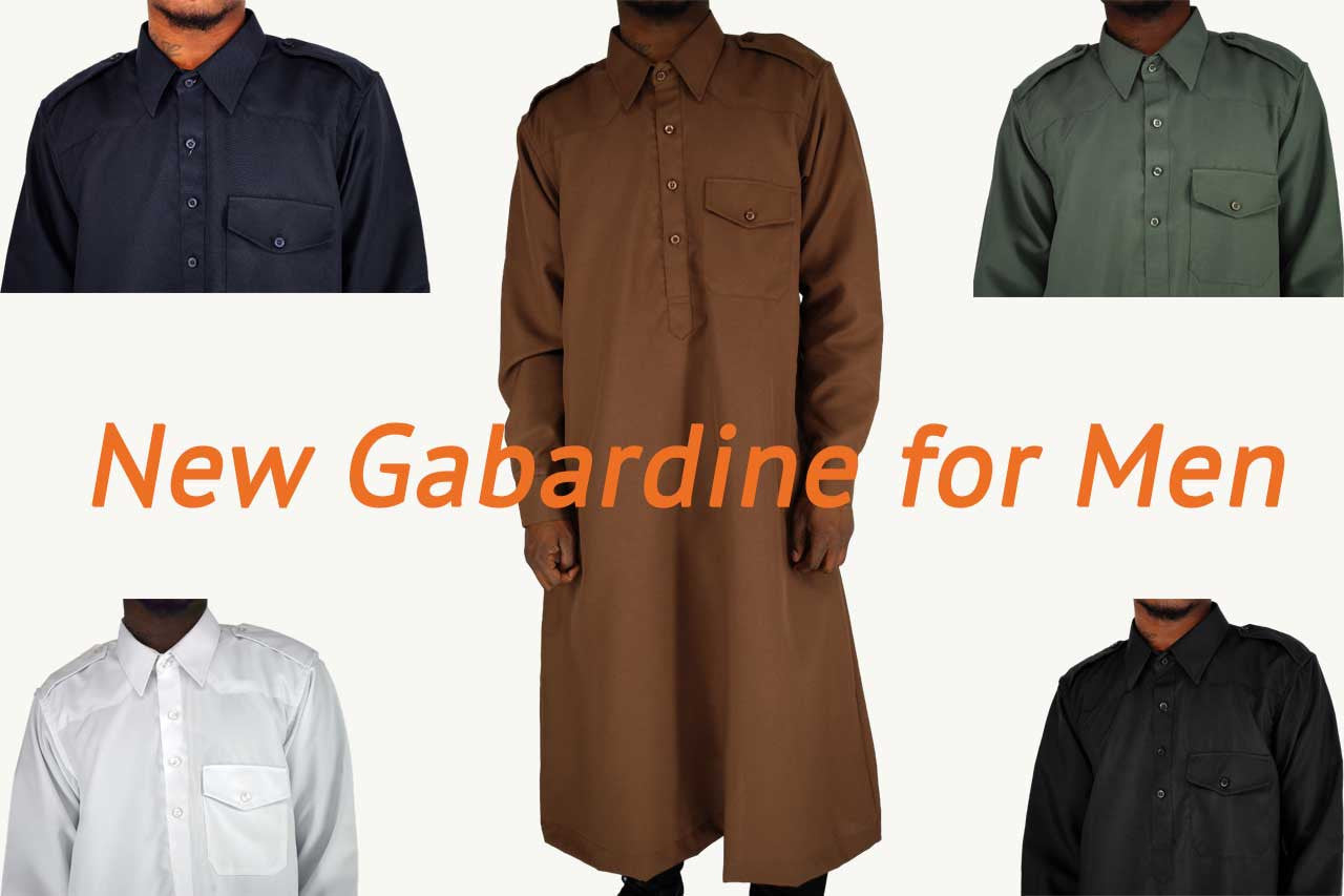 New Gabardine for Men
