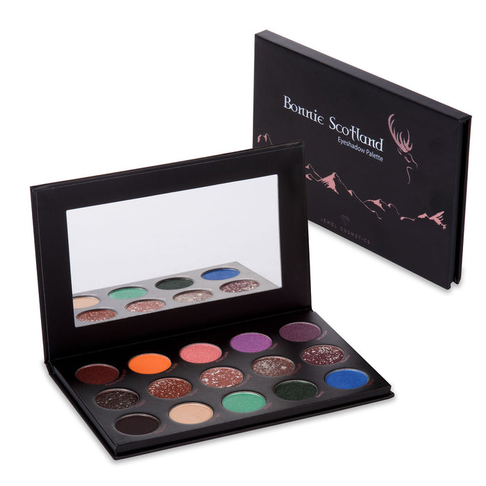 Bonnie Scotland 15 Pan Eyeshadow Palette