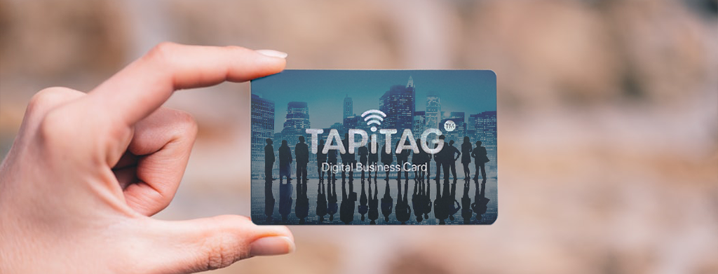 corporate digital contactless business card