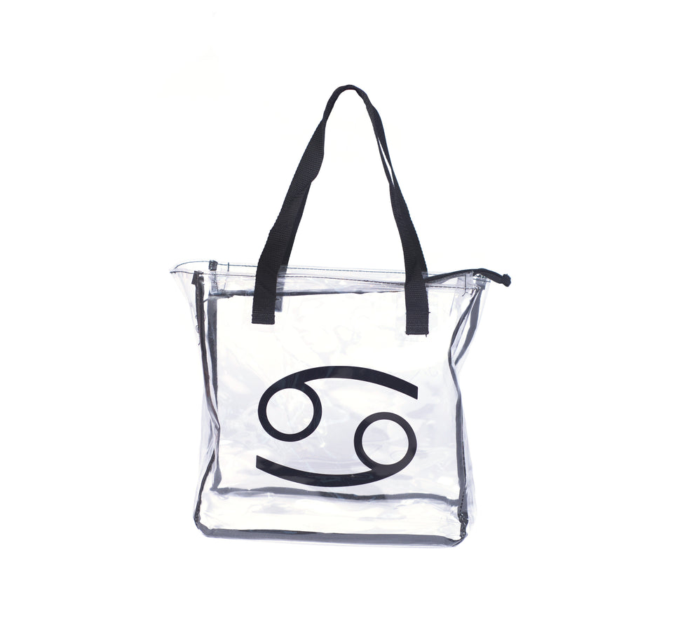 69 Clear Tote w/ limited edition Clear Case - 69