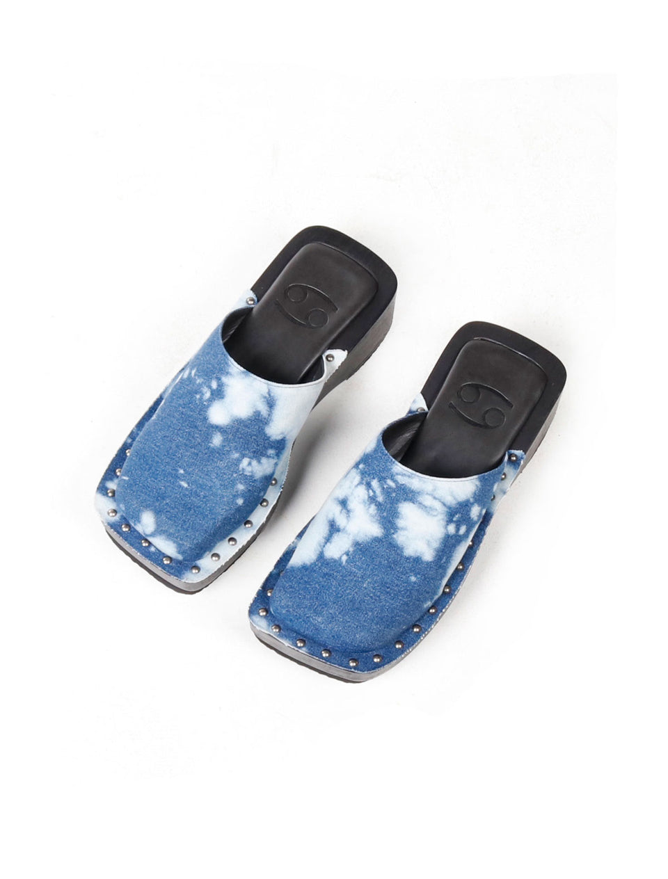 Box Clog Denim Cow - 69