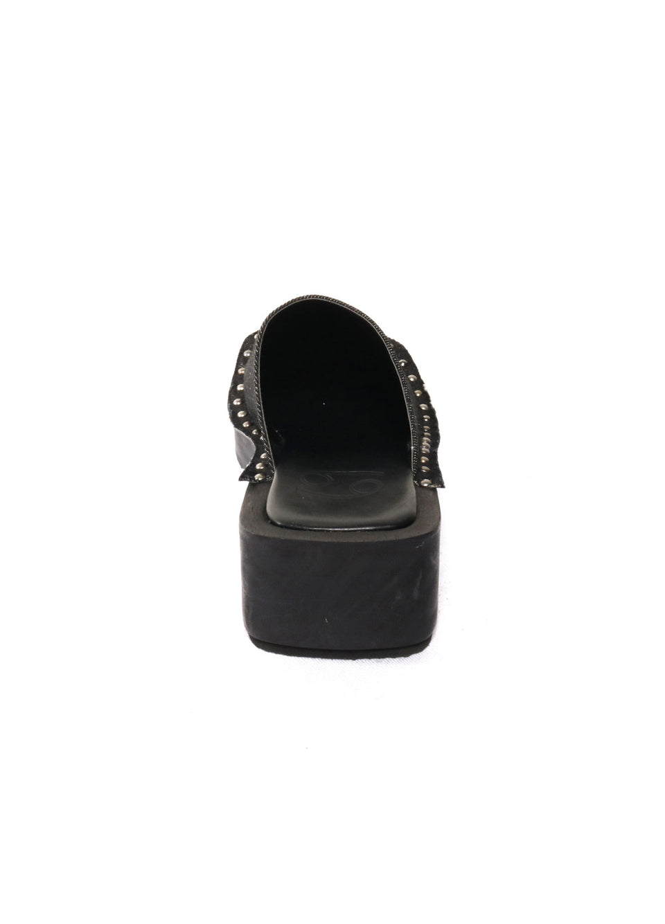 Box Clog Black Denim - 69