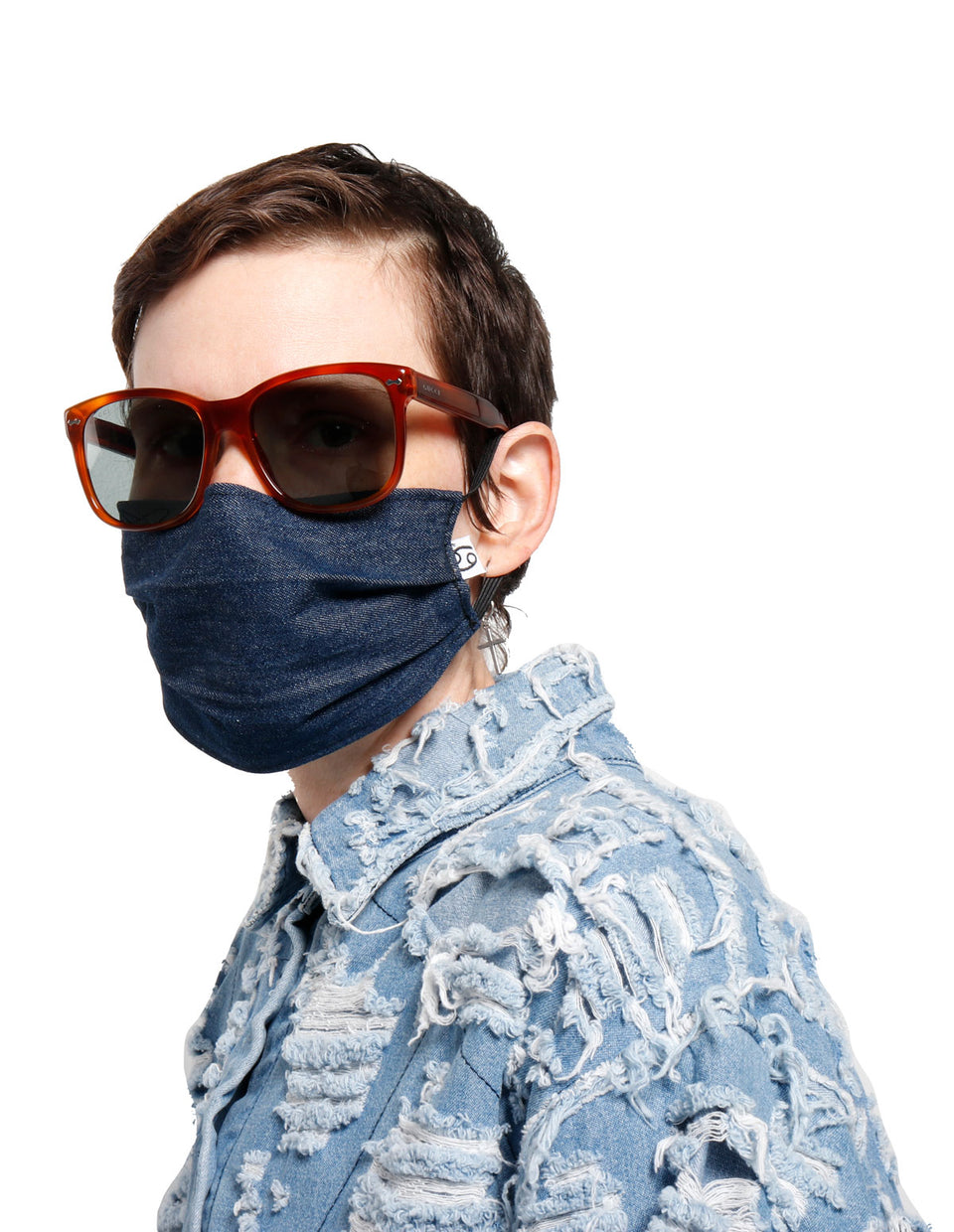 Grab Bag Dark Denim Mask
