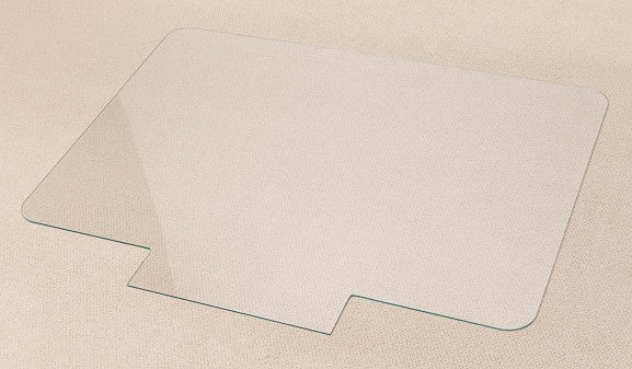 New Popular Size Glass Office Chair Mat